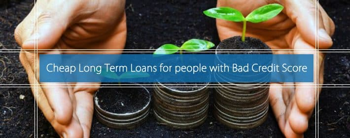 Long-term loans bad credit UK