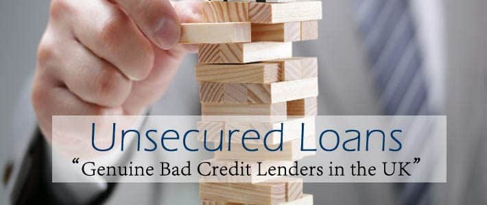 genuine bad credit lenders uk