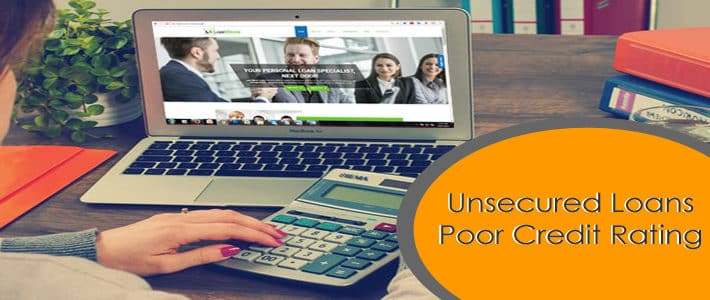 unsecured poor credit loans