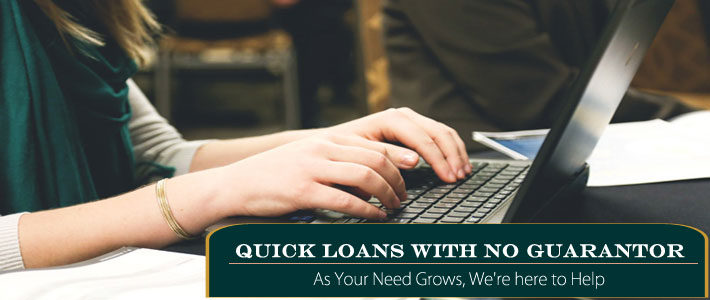 quick loans no guarantor